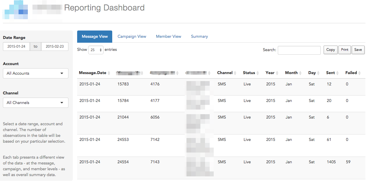Building a reporting dashboard using R and Shiny - Evaluation Matters